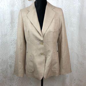 Banana Republic Blazer wool/silk size 8